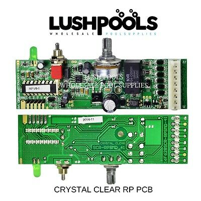 Crystal Clear RP PCB SELF CLEANING Printed Circuit Board - 1 Year Warranty