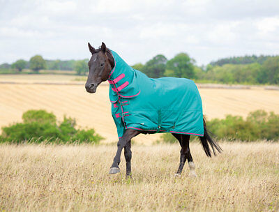 Shires Tempest 100g Fill Lightweight - Medium Combo Neck Turnout Rug  ALL SIZES