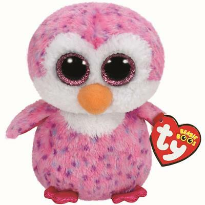 Ty Beanie Babies 36177 Boos Glider the Pink Penguin Boo