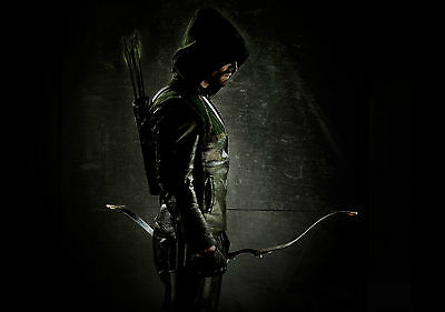 Marvel Arrow Stephen Amell Poster Wall Art Print Card or Canvas