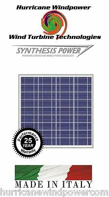 50W PEIMAR/SYNTHESIS 12V Poly-Crystalline Solar Panel 50 Watt Off Grid RV Marine