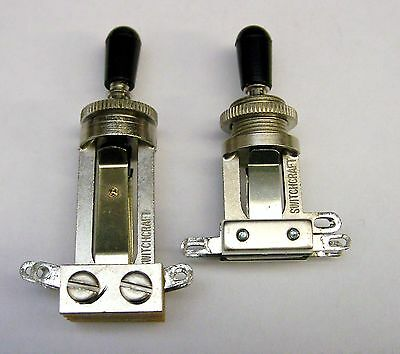 Genuine Switchcraft 3-Way Toggle Switch - Choose Long or Short