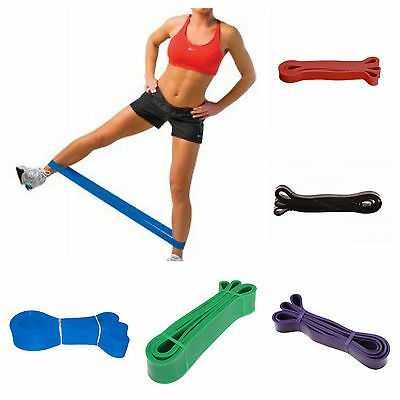 Resistance Exercise Bands Yoga Band Fitness Physio Pilates Crossfit Workout Loop