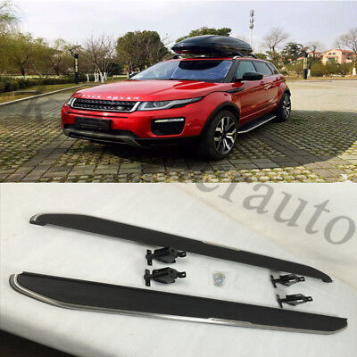 new running board side step nerf bar fit Land Rover Range Rover Evoque 2011-16