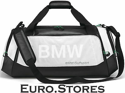BMW Golfsport Bag Black White Polyester Nylon 80222285764 Genuine New