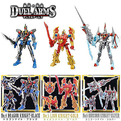 KABAYA & VOLKS DUEL KNIGHTS DUEL ARMS Another Color 3 Set Medieval Armor Beast