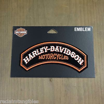 Harley Davidson Authentic Patch - Performance Power - Medium Emblem Badge