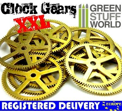 Steampunk Real Vintage CLOCK WHEELS - Watch Parts XXL - Jewellery Making.