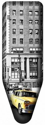 NEW YORK Ironing Board Cover Extra Large Cities 100% Cotton Size 140 x 48