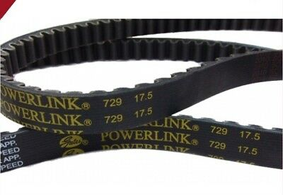 Gates PowerLink CVT Drive Belt 729-17.5-30 GY6 139QMB 50cc Chinese Scooter