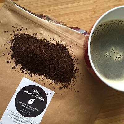Yolmo Cert. Organic Single Origin Himalayan Arabica Coarse Ground Coffee 100g