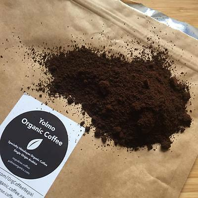 Yolmo Certified Organic Single Origin Himalayan Arabica Fine Ground Coffee 1kg