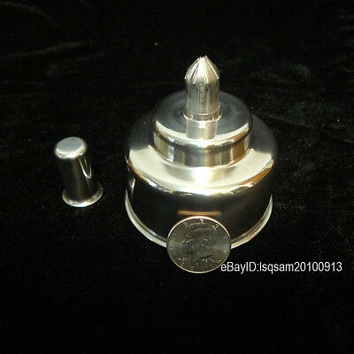 Lab Alcohol Burner Stainless Steel Alcohol Lamp Laboratory Lamp/ Burner 200ml