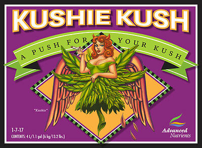 Advanced Nutrients Kushie Kush 30ml- bloom booster yield increase additive