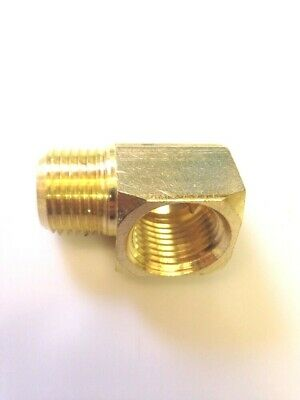 1/2 inch 90 Degree Street Elbow Brass Pipe Fitting NPT male female thread water