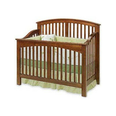 Baby Convertible Crib Nursery Bed Furniture Woodworking Plans