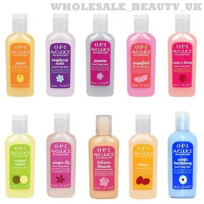 OPI AVOJUICE  Skin Quenchers Hand & Body Lotion - 6pk B/fast At Tiffany's  2016
