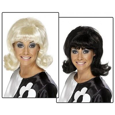 60's Flick-Up Wig Mod Retro Costume Accessory Adult Halloween