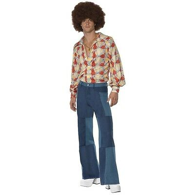 70s Costume Adult Disco Guy Halloween Fancy Dress Outfit