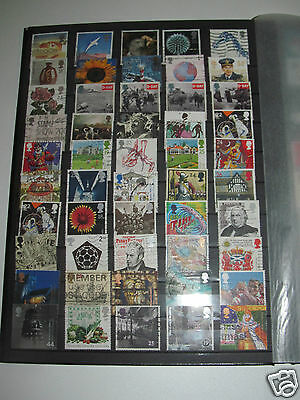 Lot Timbres Oblitérés Angleterre Royaume-Uni (112) United Kingdom Postage Stamps