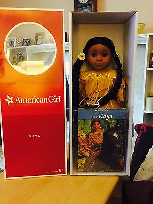 American Girl Historical Kaya with her Book BNIB