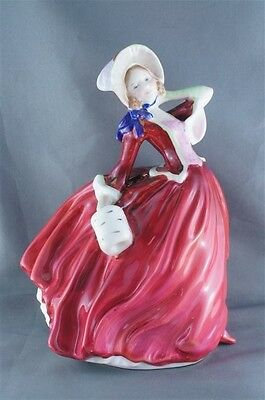 Royal Doulton Autumn Breezes Figurine Old Mark Copr 1939