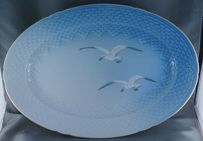 "B and G Bing and Grondahl Seagull 13"" Oval Meat Serving Platter  #16"