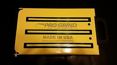 PROGRIND portable grinding table by Marshall MFG