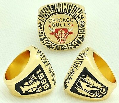 Goodies Bague Chevaliere NBA JORDAN Chicago BULLS 1998 neuve