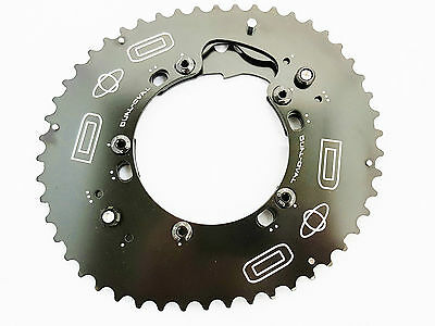 Chainring Set Dual-Oval 5 arms Shimano Sram BB30 Osymetric Rotor Doval
