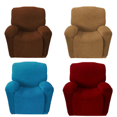 1 Seater Super Fit Easy Stretch Sofa Couch Cover Recliner Protector Slipcover