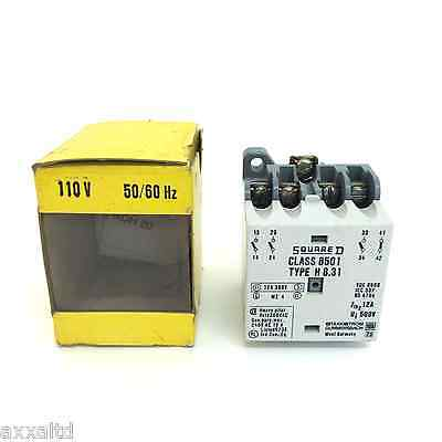 Control Relay 8501-H-8.31 Square D 8501-H8.31