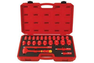 """Laser Tools 6147 Insulated Socket Set 1/2""""D 24pc"""