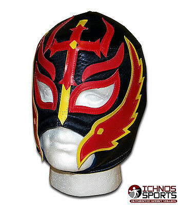 Luchadora Son Of Devil Fire Mexican Lucha Adult Wrestling Mask