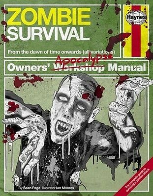 Haynes Zombie Survival Manual H5473 Great Christmas Gift Stocking Filler