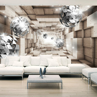 Huge wall mural photo wallpaper non-woven Abstraction Illusion 3D a-A-0155-a-b