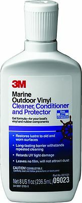 3M 09023 Marine Vinyl Cleaner, Conditioner and Protector - 250 ml