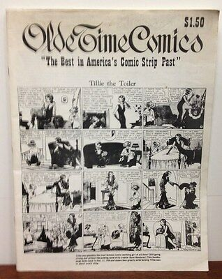 OLDE TIME COMICS Vol. 1 No. 1 Tower Press tabloid Classic Comic Strips 1974