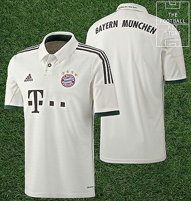 Bayern Munich Away Shirt -Official Adidas FCB Munchen Football Jersey -All Sizes