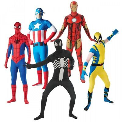 Superhero Costume Adult Halloween Fancy Dress