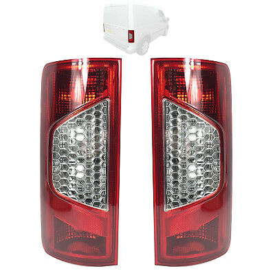 2 X Ford Transit Connect Rear Lamp Light Lens Left & Right Pair 2009 On