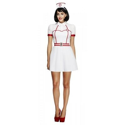 Nurse Costume Adult Halloween Fancy Dress Outfit