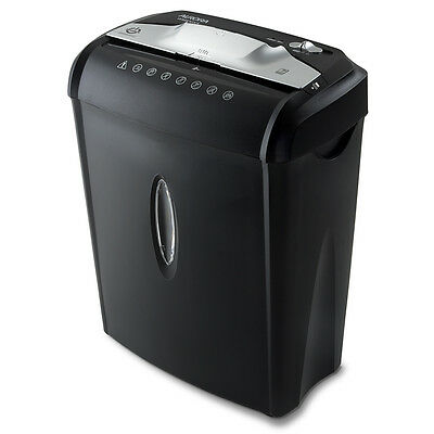 Aurora AU740XA 7-Sheet ShredSafe CrossCut Paper / Credit Card Shredder w/ Basket