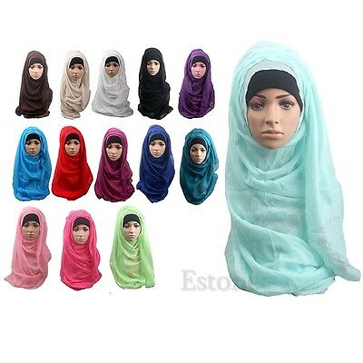 Hot Muslim Long Soft Hijab Maxi Islamic Scarf High Quality Wrap Shawl Women