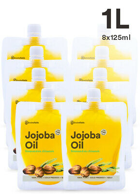Bulk Jojoba Oil 1.0L 100% Pure Virgin Jojoba Oil  - Free Shipping