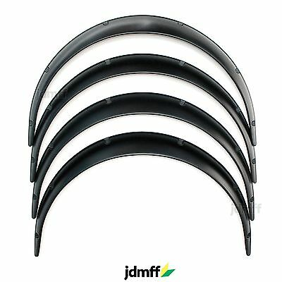 Universal Fender Flares JDM over wide body wheel arches ABS 2.75inch (70mm) 4pcs