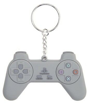 Sony Playstation PS1 One Controller Rubber Keychain Keyring Official [New]