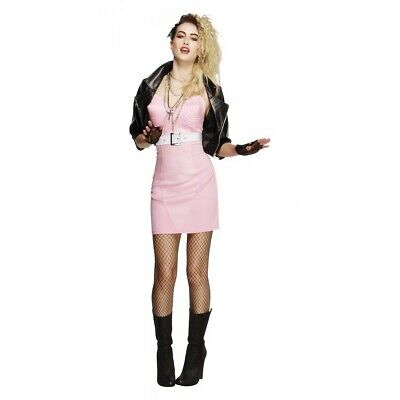 Madonna Costume Adult 80s Pop Star Outfit Halloween Fancy Dress