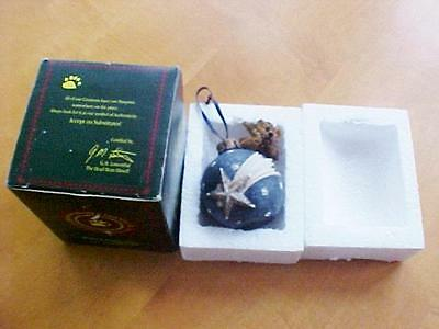 Boyds Bears Wilson With Shooting Star Ornament 25702 1996