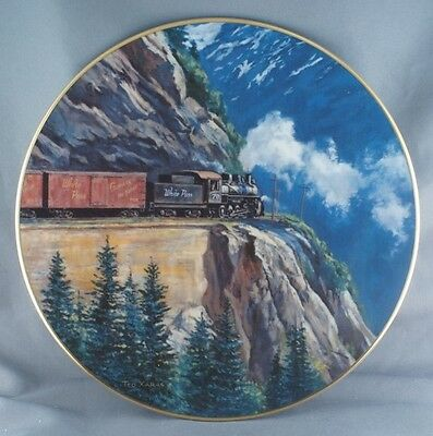Ted Xaras White Pass Age of Steam Train Plate